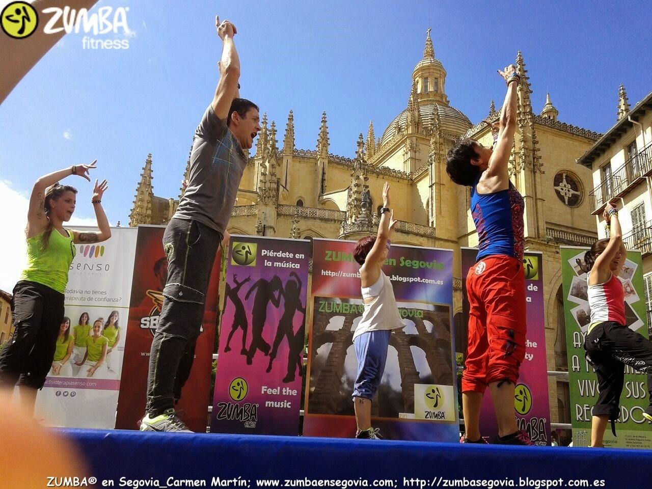 MASTER CLASS ZUMBA® en Segovia Carmen Martín