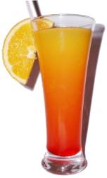 Tekila Sunrise kokteyl: güzel bir içecek için reçete