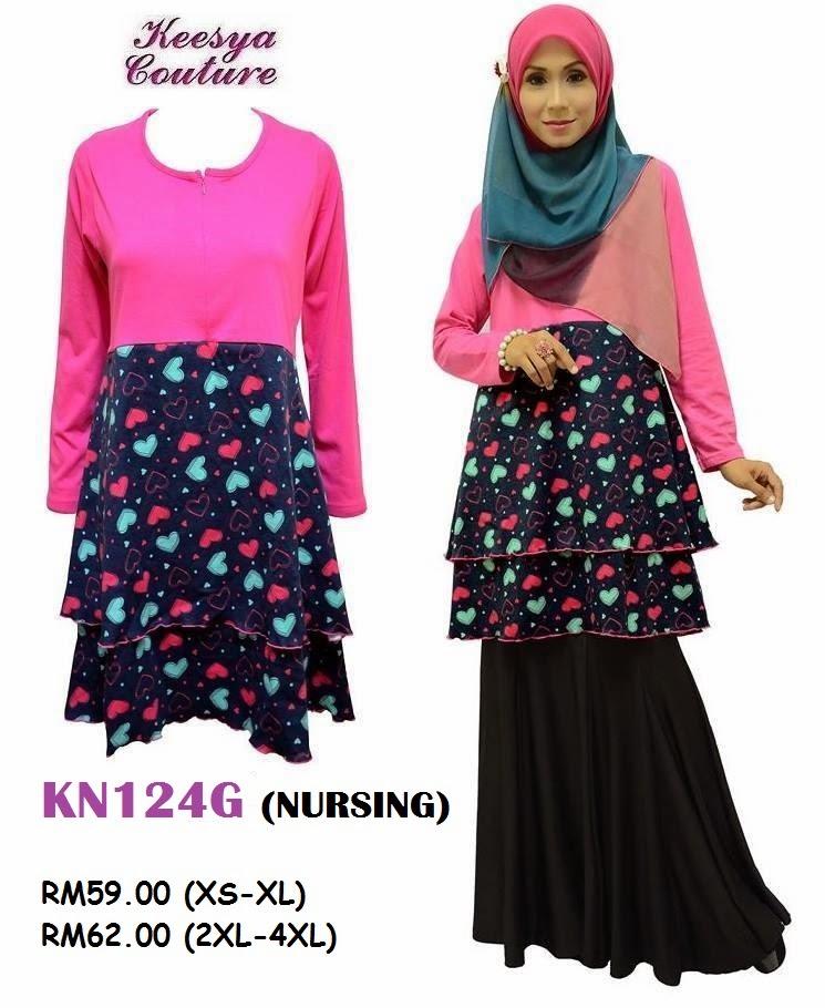 T-shirt-Muslimah-Keesya-KN124G