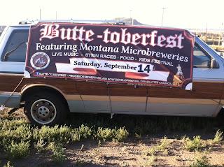 Butte-toberfest Van