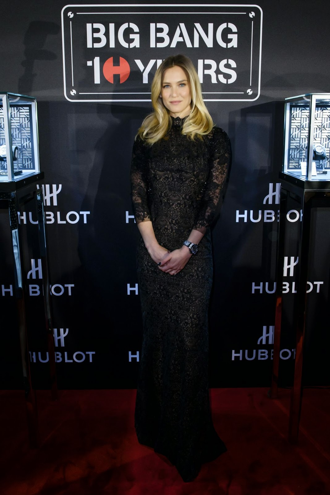 Fashion Model, Actress @ Bar Refaeli at Hublot Big Bang Collection 10th Anniversary Press Conference in Basel
