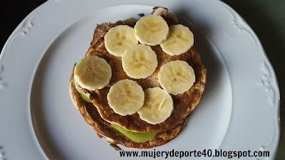 receta desayuno tortita mujerydeporte40