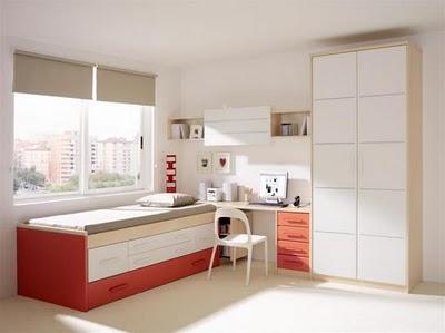 Modernos dormitorios juveniles para hombres for Cuartos juveniles modernos