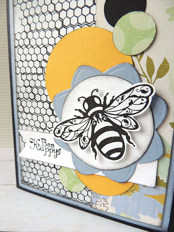 Hot Off The Press - Bee Happy Card