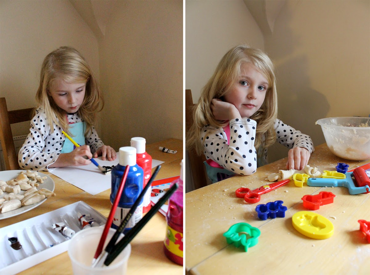 arts and crafts, christmas project, christmas art, salt dough decorations, todaymyway.com