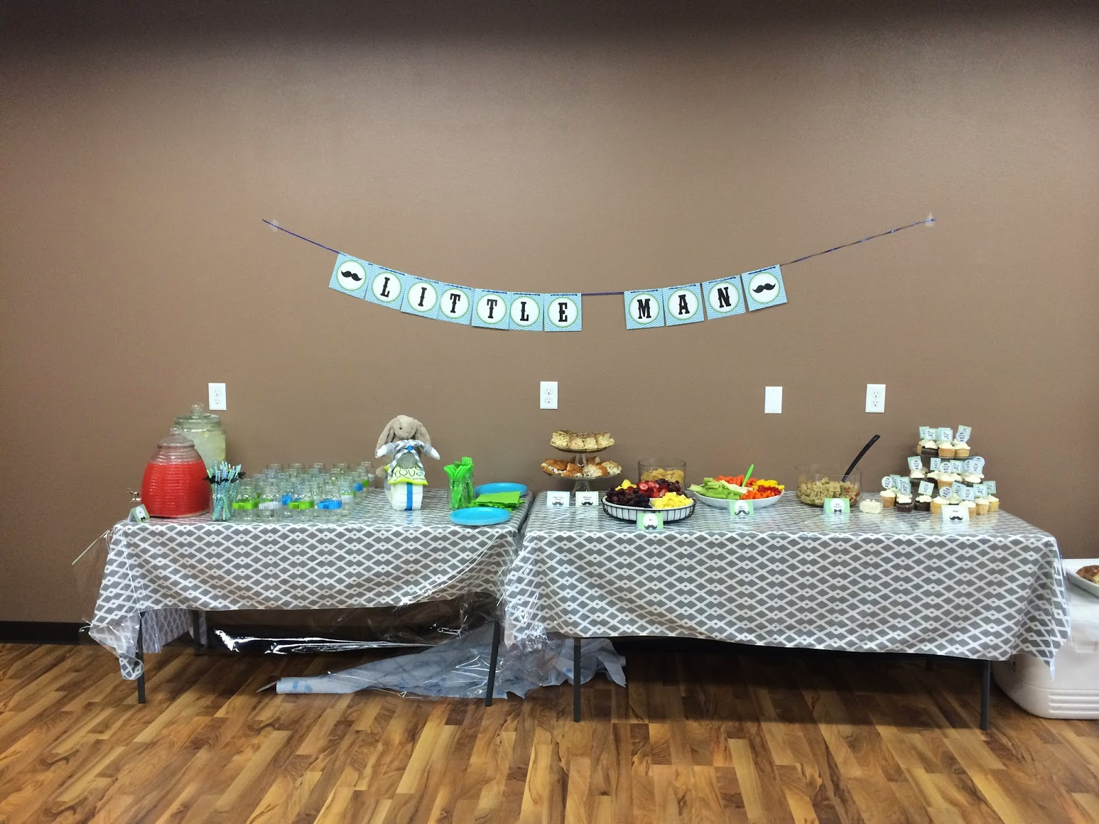 How to Plan a Little Man Baby Shower