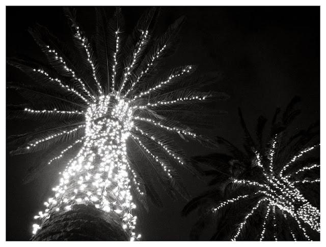 Iluminación navideña en GIjón (Jardines de la Reina), por Pablo Basagoiti