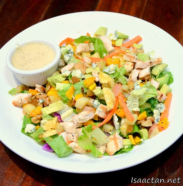 #1 Chicken & Roasted Vegetable Salad - RM22.90
