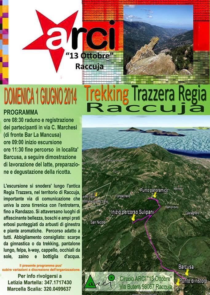 TREKKING A REGIA TRAZZERA: NATURA E SAPORI DI RACCUJA
