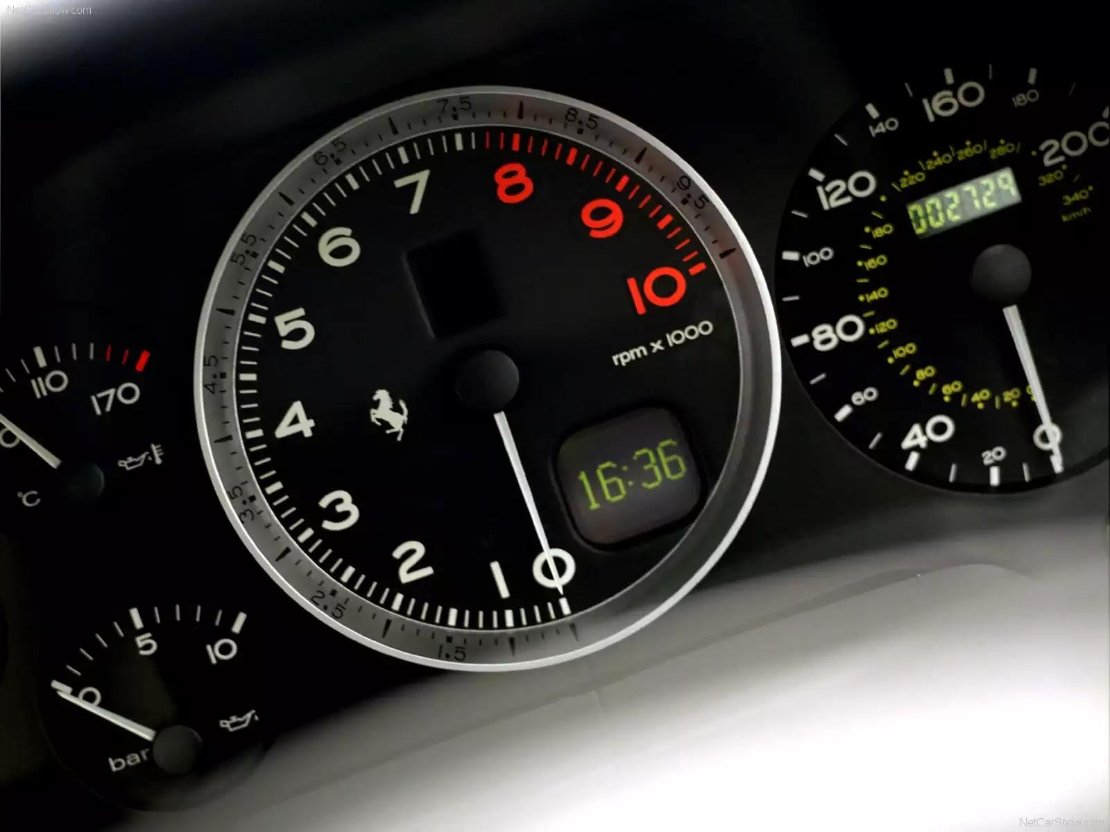 Hình ảnh siêu xe Ferrari 575M Maranello 2002 & nội ngoại thất