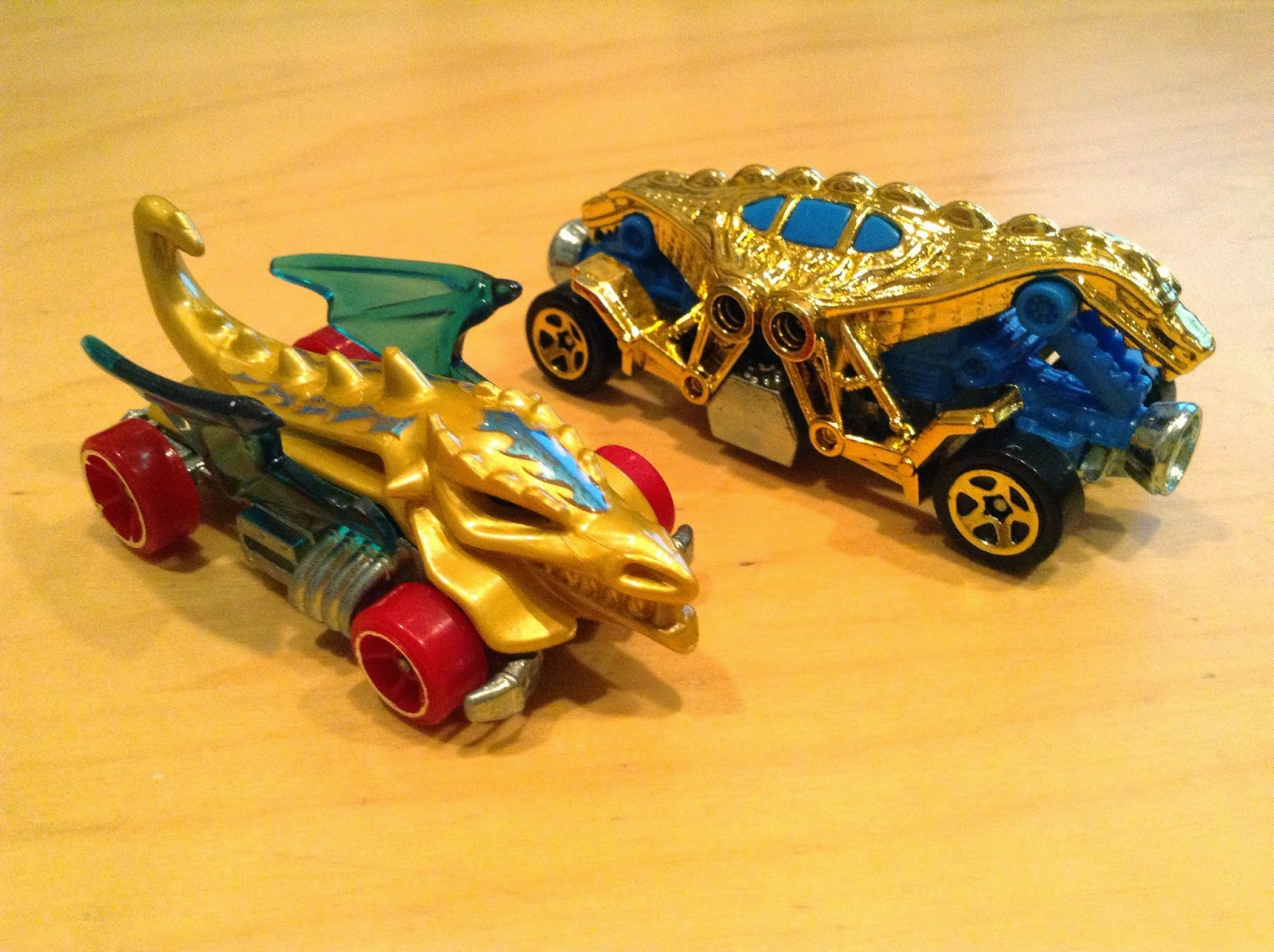Cars For Less >> Julian's Hot Wheels Blog: Double Demon & Dragon Blaster
