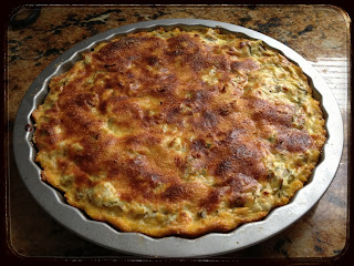 Recipe: Artichoke and goat cheese tart with parmesan-polenta crust