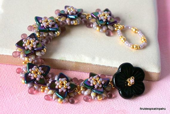 Pond Lilies Bracelet