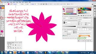 Motif Bunga Kotak Bercampur Raya