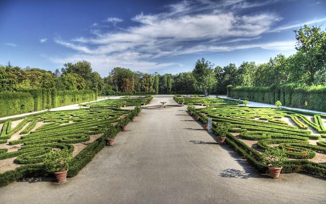 I giardini del Palazzo Ducale di Colorno