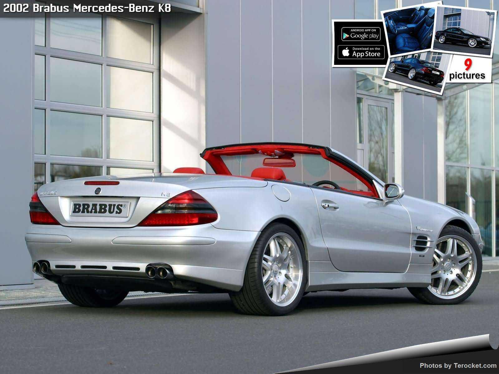 Hình ảnh xe ô tô Brabus Mercedes-Benz K8 2002 & nội ngoại thất