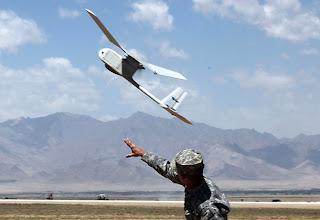 AeroVironment RQ-11 Raven Launch