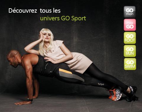 Payez 25€ sur vente-privee.com et dépensez 50€ chez GO Sport