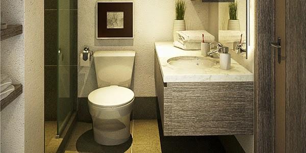 Lavadero De Baño Moderno:de baño pequeño lo ideal es que el lavadero sea suspendido, de
