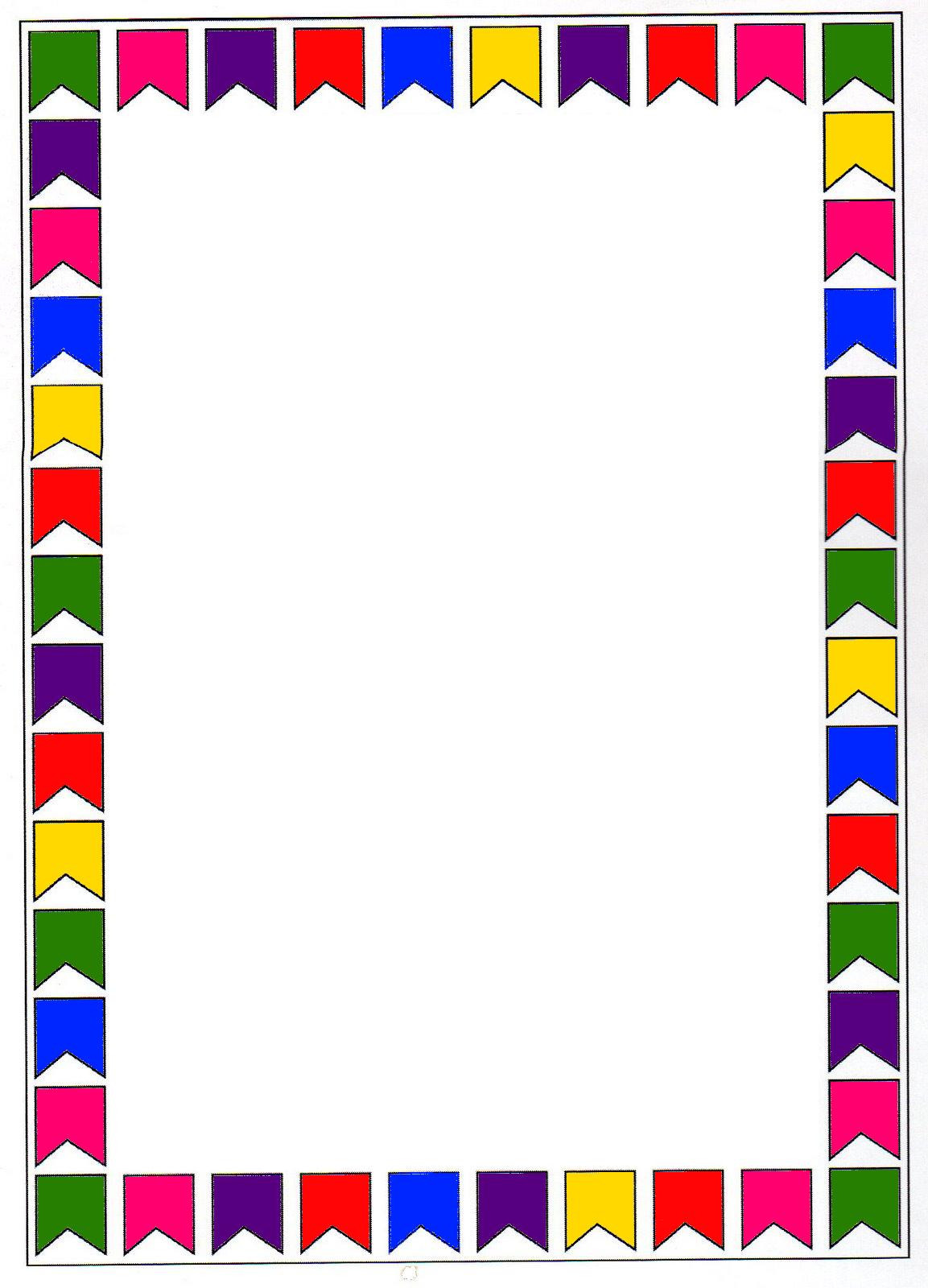Bordas Coloridas Para As Atividades De Festa Junina