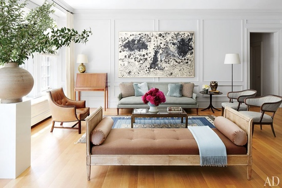 Rosa Beltran Design Using A Daybed In A Living Room