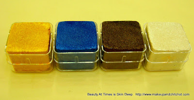 The Body Shop Shimmer Cubes Spring Collection Palettes 31