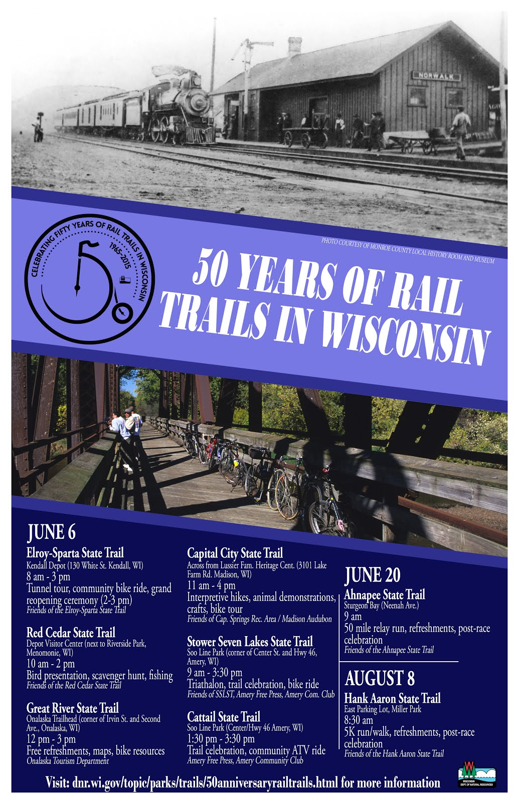 Rails to Trails Events