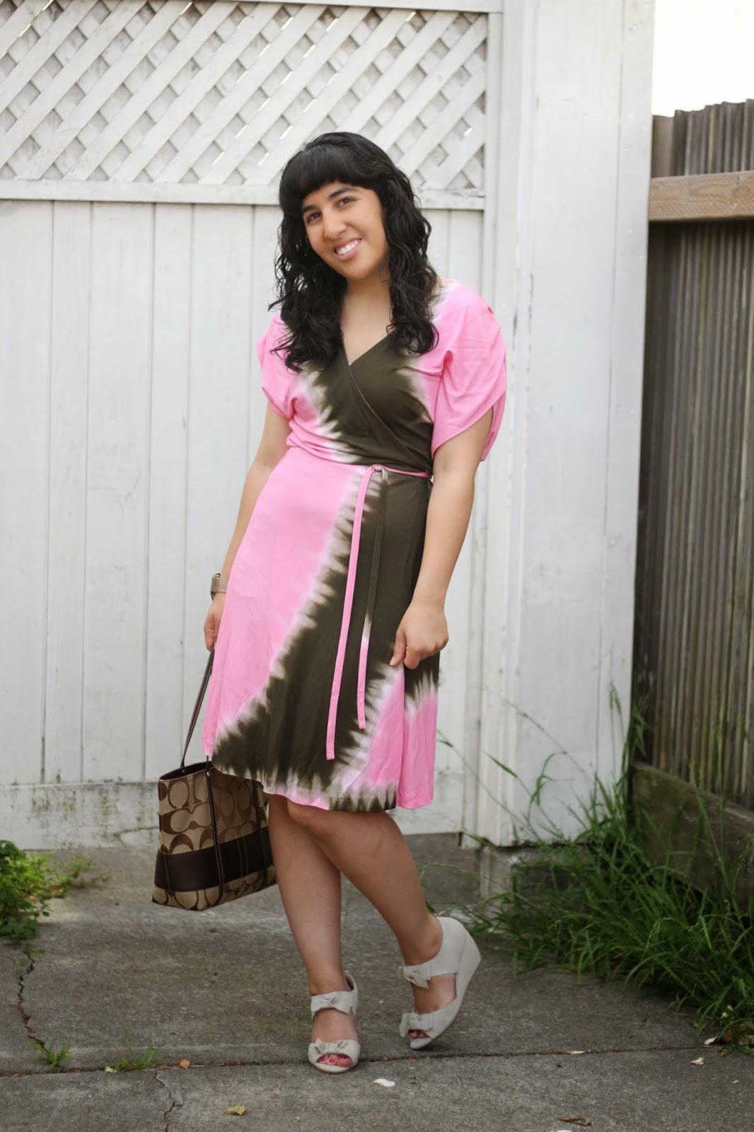 DVF Pelego Wrap Dress