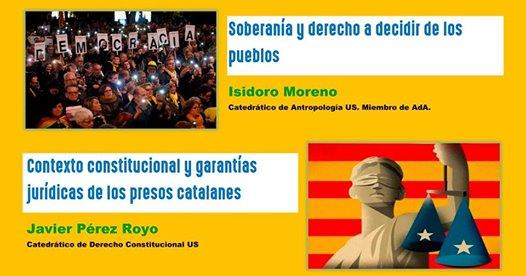 EN DEFENSA DE LOS DERECHOS Y LIBERTADES. Acto en Sevilla