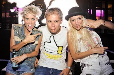 Nervo con Armin Van Buureen el día que éste nos hizo una visita