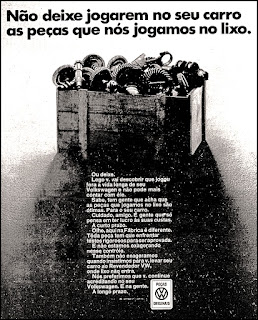 Volkswagen, Volks, VW, brazilian advertising cars in the 70s; os anos 70; história da década de 70; Brazil in the 70s; propaganda carros anos 70; Oswaldo Hernandez;.
