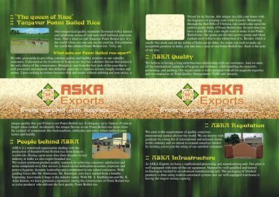 brochure design inner page