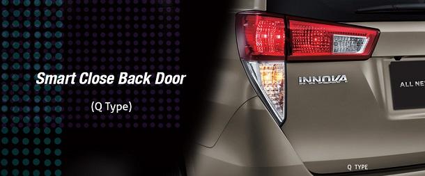 Smart Close Back Door Toyota All New Kijang Innova, Pintu Belakang Tertutup Otomatis