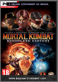 Baixar Jogo Mortal Kombat Komplete Edition-FLT PC - (2013)