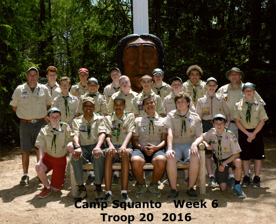 BSA Troop 20 Middleborough