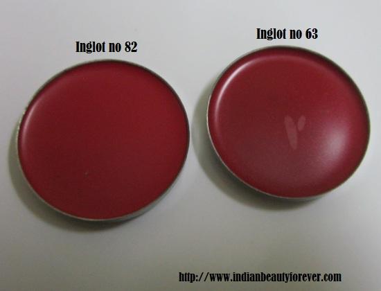 Inglot freedom system lipsticks