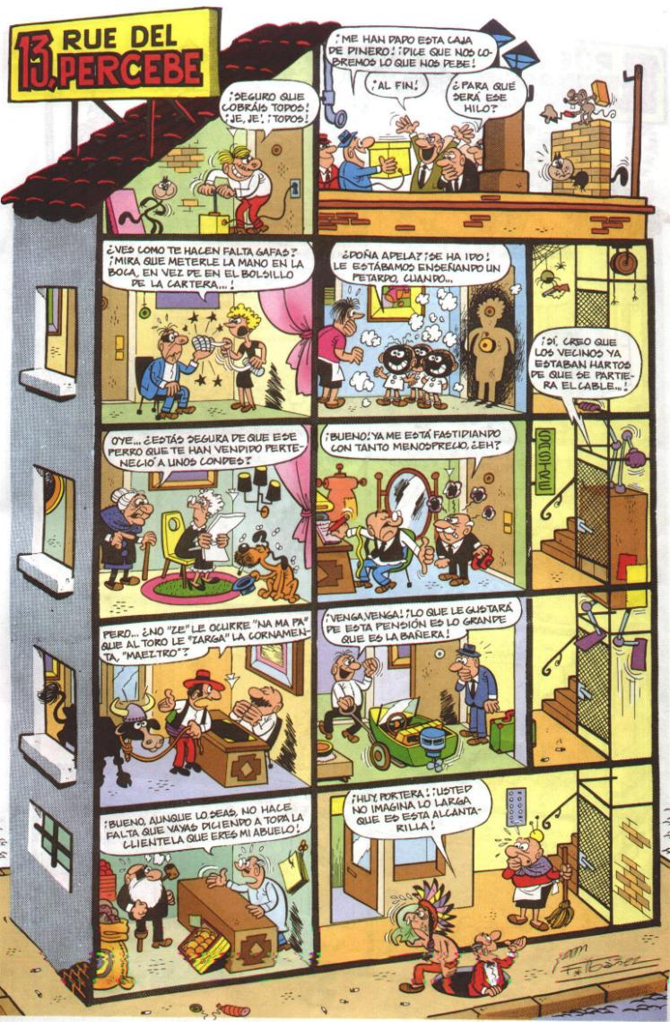Francisco iba ez un genio del c mic te interesa saber for Chambre 13 serie