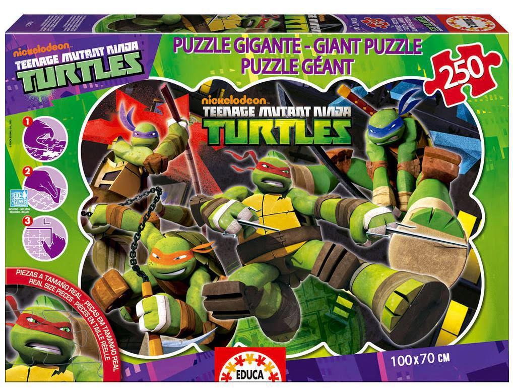 Puzzle de las Tortugas Ninja