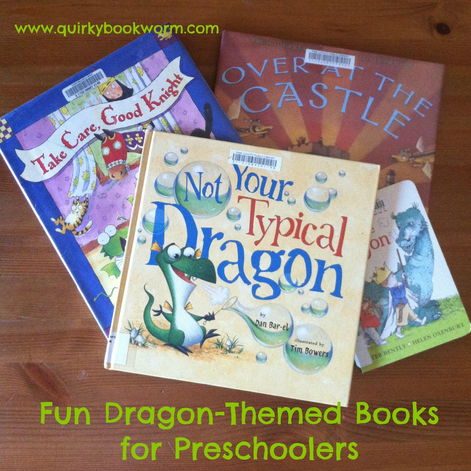 Quirky Bookworm: Fun Dragon-Themed Books for Preschoolers