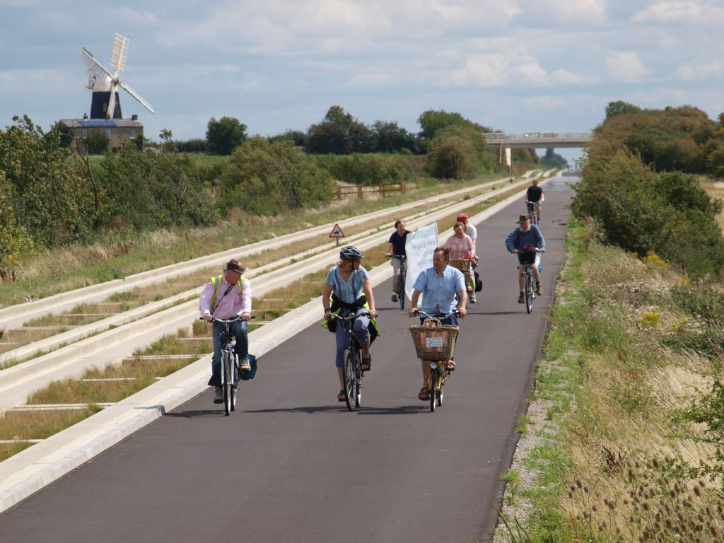 A view from the cycle path: The best cycle path in Britain ?