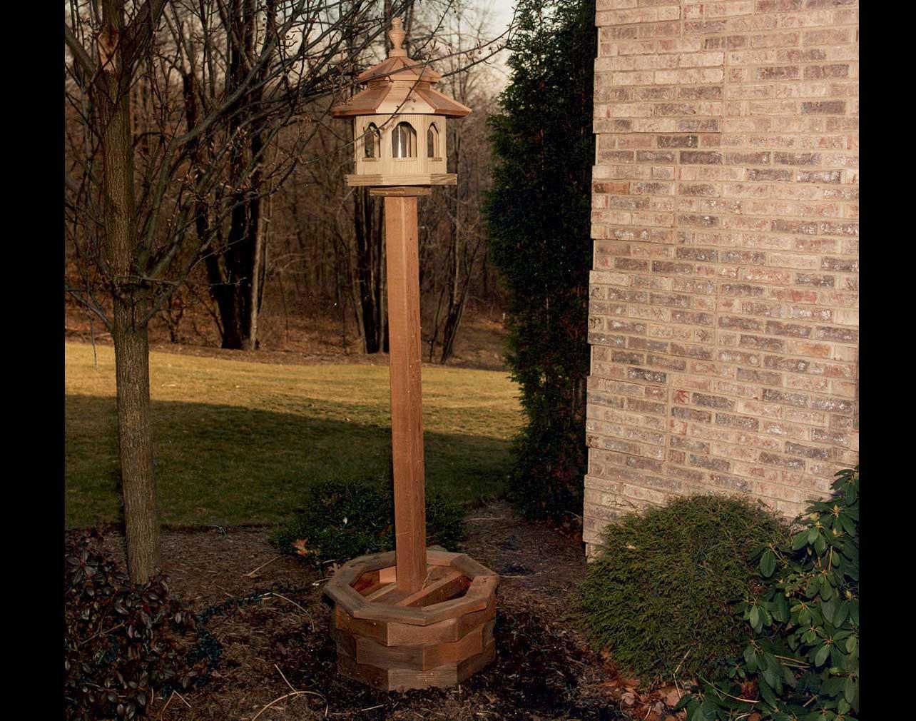 3 4 In Octagon Bird Toys : Bird in everything octagon feeder