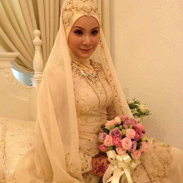 Gambar Majlis Pernikahan Khairul Fahmi Che Mat (Apek) Dan Leuniey Natasha