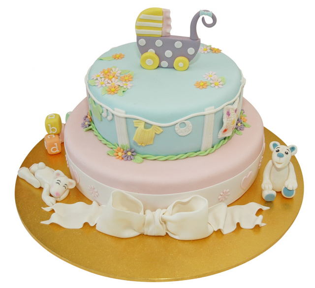 Baby Cake Decorations Morrisons : baby shower cake decorating beautiful and fascinating ...