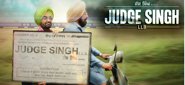Judge Singh LLB (2015) Punjabi Movie DVDscr 700mb HD
