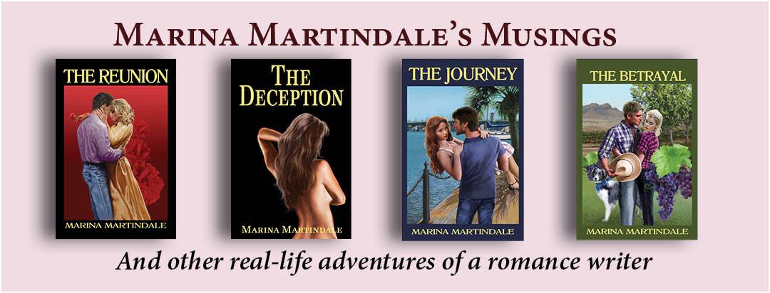 Marina Martindale's Musings