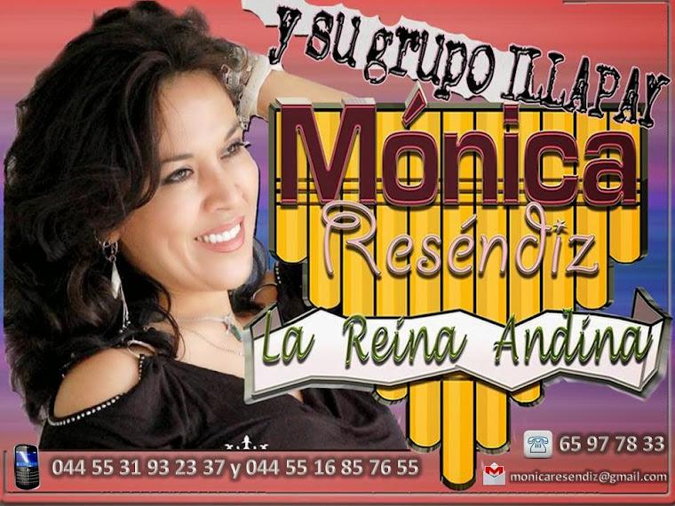 MONICA RESENDIZ LA REINA DE LA CUMBIA ANDINA Y SU GRUPO ILLAPAY.