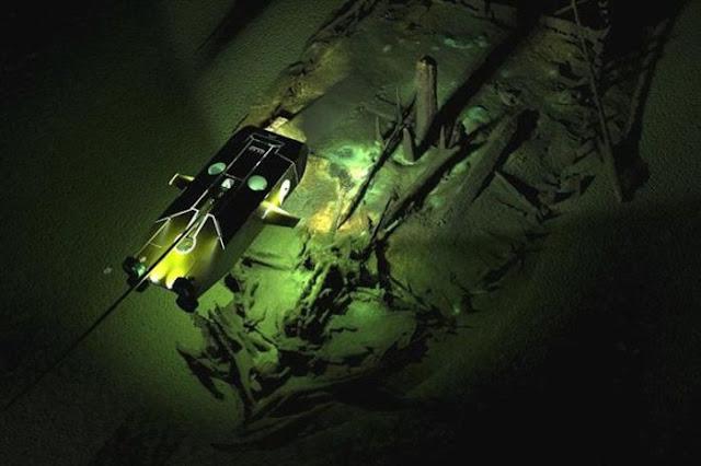 Αρχαιολόγοι φωτογράφισαν Bυζαντινά ναυάγια στο βυθό της Μαύρης Θάλασσας