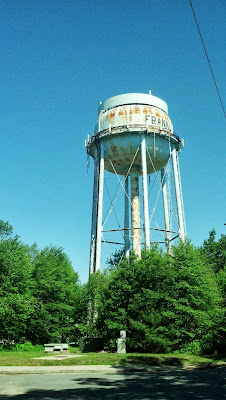Upper Union St water tower - Jun 2013