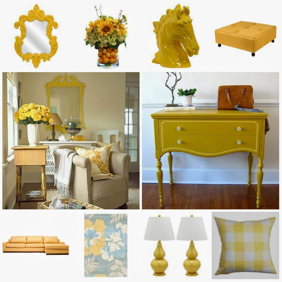 Διακόσμηση με το κίτρινο!