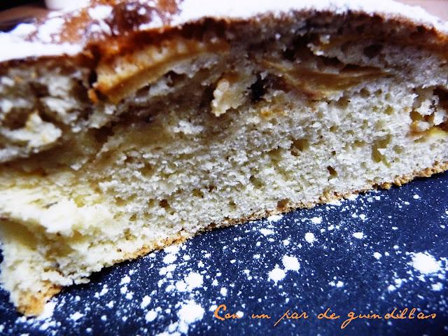 Tarta-manzana-bizcochada
